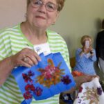 #Betty Colombo demonstrating flower pounding 7-12-16 IMG_0156